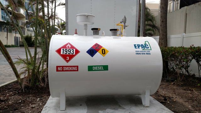 Epac Environmental Services offers fuel tank installation, repair and maintenance on the East Coast